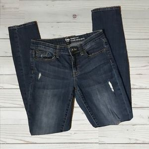 Gap   Distressed Skinny Fit Jeans - Size 0/25